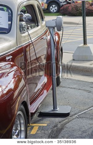 1941 Plymouth Classic Car Side View