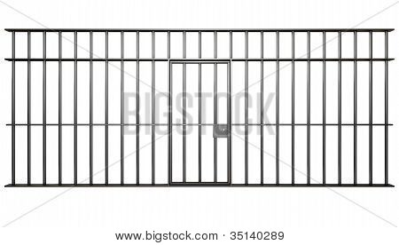 Jail Cell Bars
