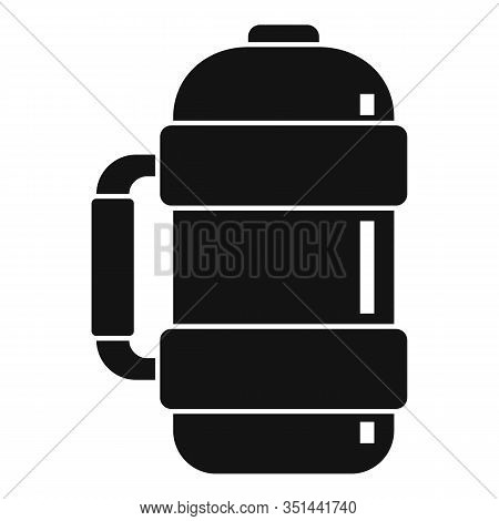 Vacuum Insulated Water Bottle Icon. Simple Illustration Of Vacuum Insulated Water Bottle Vector Icon