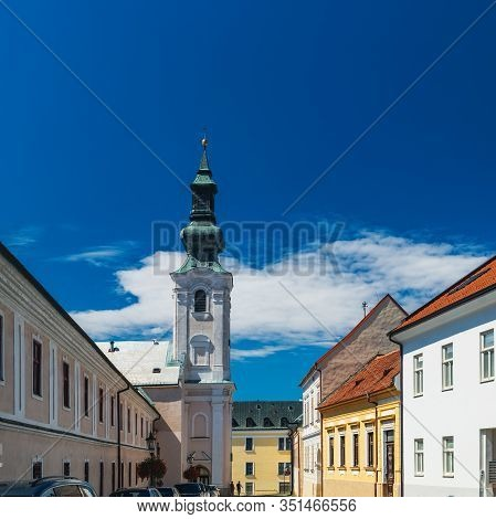 Church Of Saints Peter And Paul In Old Town Of Nitra, Slovakia