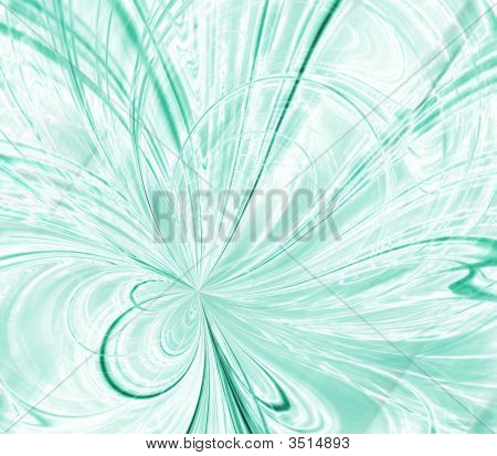 Minty Threads Abstract