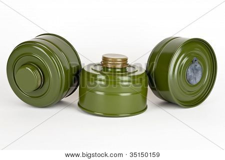 Gas Mask Absorbers
