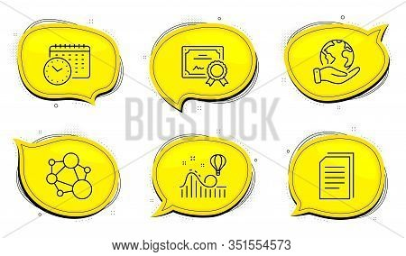 Roller Coaster Sign. Diploma Certificate, Save Planet Chat Bubbles. Copy Files, Calendar Time And In
