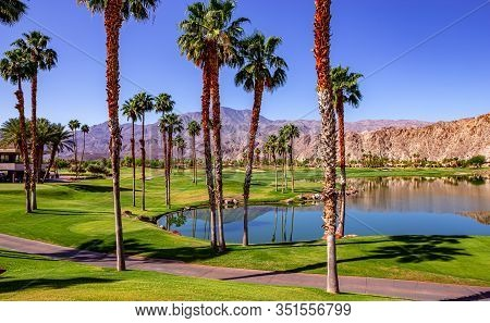 Palm Springs Golf Course At Ana Inspiration, California