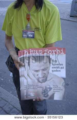 Denmark_homeless Magazine