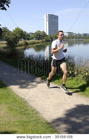 Denmark_runner In Copenhagen