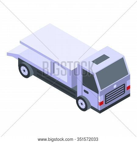 Repair Tow Truck Icon. Isometric Of Repair Tow Truck Vector Icon For Web Design Isolated On White Ba