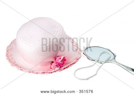 Easter Bonnet And Pearls