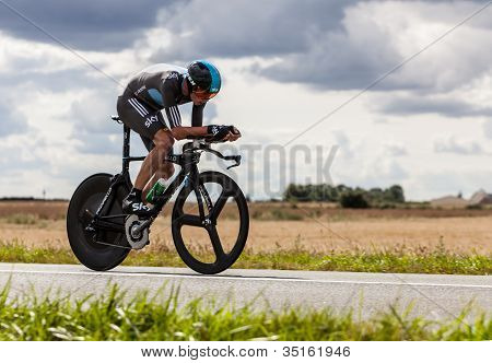 The British Cyclist Froome Christopher
