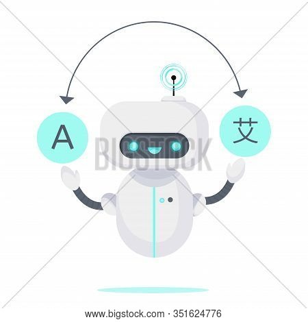 Chatbot Translator. Online Translates Your Messages Into Another Language. Ai Online Support For Tra