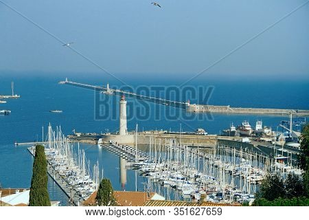 Sete -  Fascinating Small Town On The French Mediterranean Coast  Known As The Venice Of Languedoc.