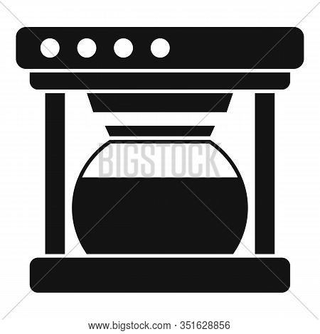 Automatic Coffee Machine Icon. Simple Illustration Of Automatic Coffee Machine Vector Icon For Web D
