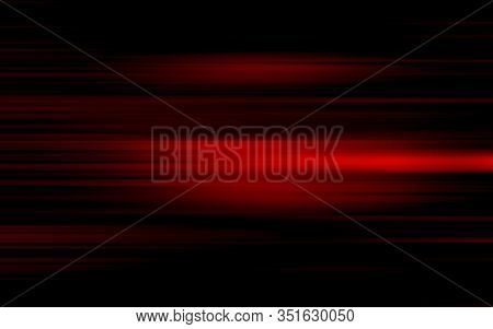 Abstract Red And Black Are Light Pattern With The Gradient Is The With Floor Wall Metal Texture Soft