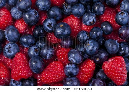 Fresh berries and fruit