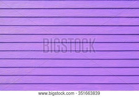 Wall Panel Paint Purple,ultra Violet Color Synthetic Wooden Plank Texture Surface Background. Outdoo