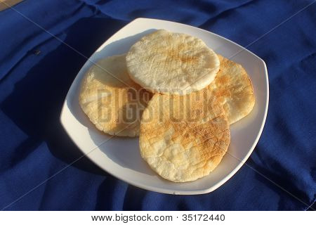 Indonesian traditional food krupuk