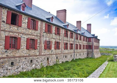 Fortress Louisbourg Bastion Barracks