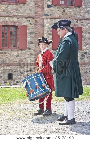 Drumming At Louisbourg