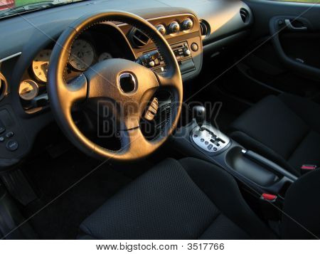Inside Sports Car