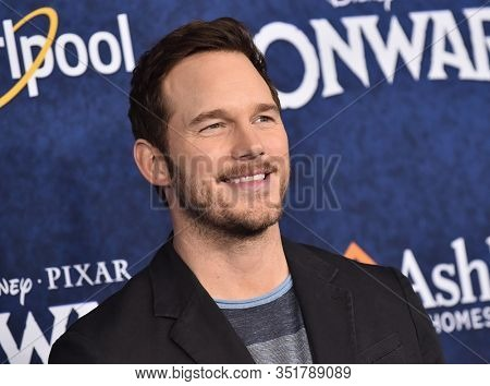 LOS ANGELES - FEB 18: Chris Pratt arriving to the 'Onward' World Premiere on February 18, 2020 in Hollywood, CA