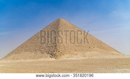 Red Pyramid. The Red Pyramid, Also Called The North Pyramid, Is The Largest Of The Three Major Pyram