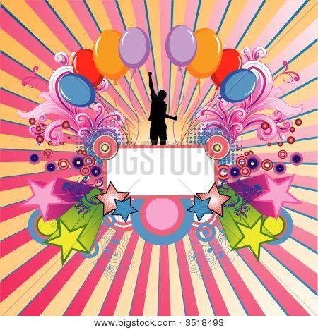 Celebration Vector Composition