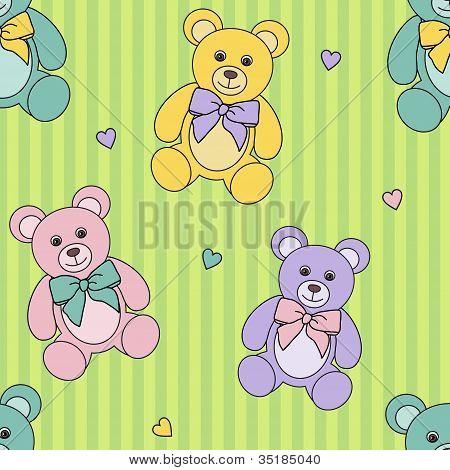 Teddy Bears Pattern