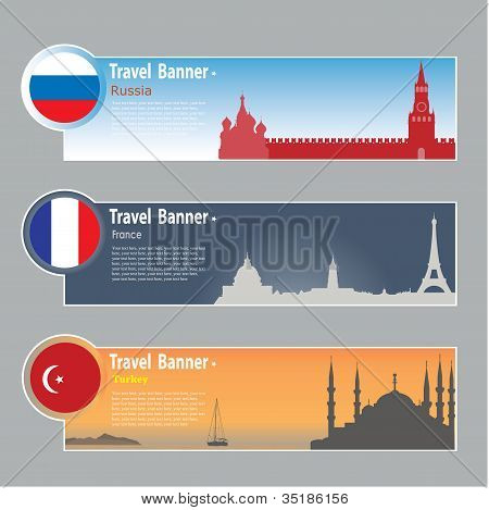 Travel Banners