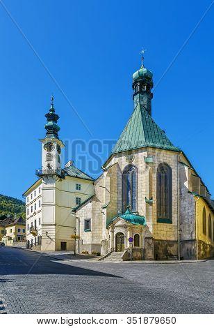 Church Of St Catherine, Banska Stiavnica, Slovakia