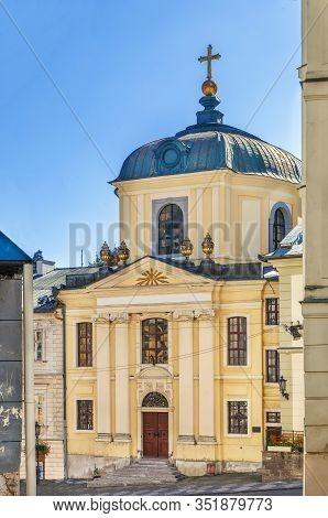 Evangelic Church In Banska Stiavnica Old Town, Slovakia