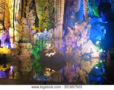 Silver Cave, Yangshuo city, Guangxi providence, China