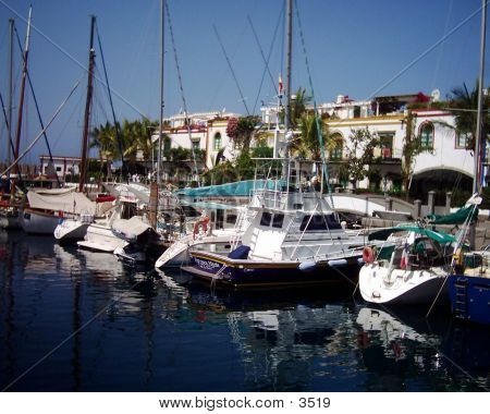 Mogan Harbour, Gran Canaria