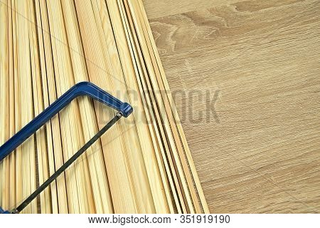 Modellers Needs, Wooden Spruce Beams. Different Profiles Of Wooden Beams. Construction Of Various Mo