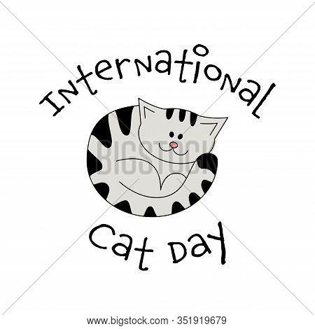 International Cat Day Vector Photo Free Trial Bigstock
