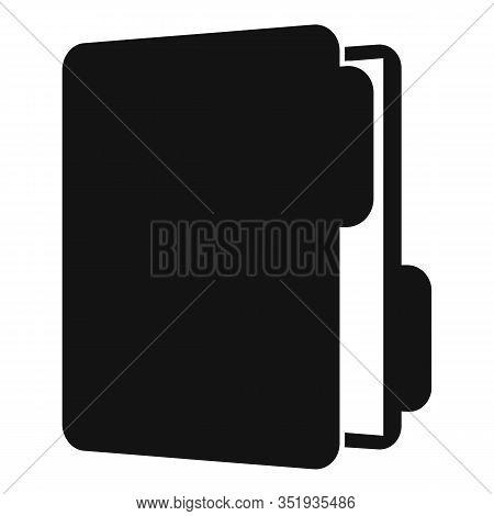 Inventory Folder Icon. Simple Illustration Of Inventory Folder Vector Icon For Web Design Isolated O
