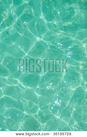 Light green water ripple background for the summer time