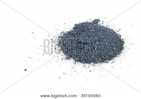 Potassium Permanganate Isolated On White Background