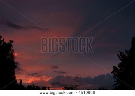 Piercing Sunset