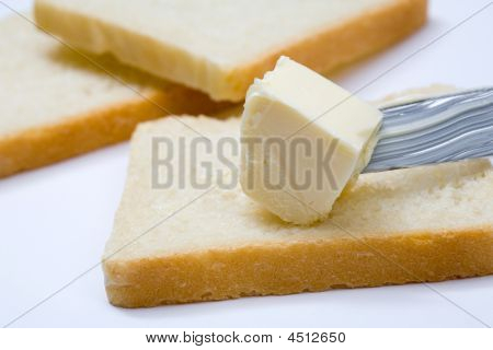 Bread, Butter And Knife