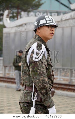 South Korean Soldier