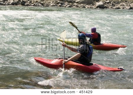 Kayaking - Nepal
