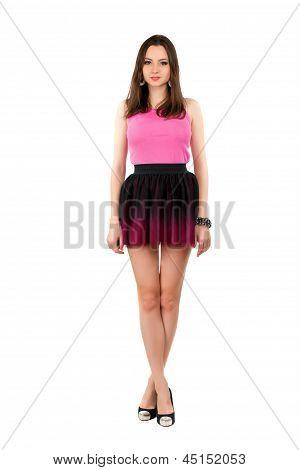 Pretty Leggy Woman