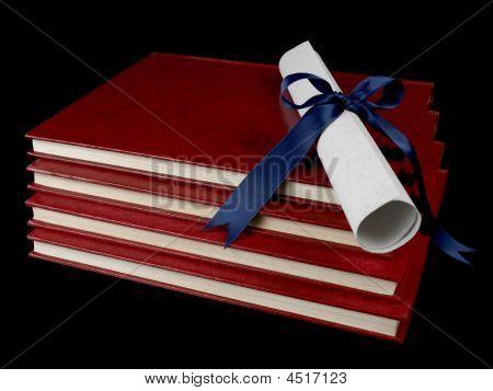 Diploma Over Books
