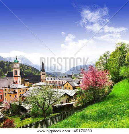stunning Alpen landscapes - Berchtesgaden , German-Austrian border