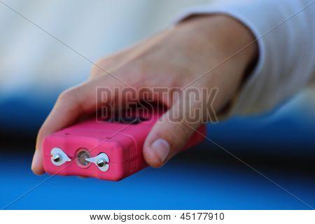 Pink Taser