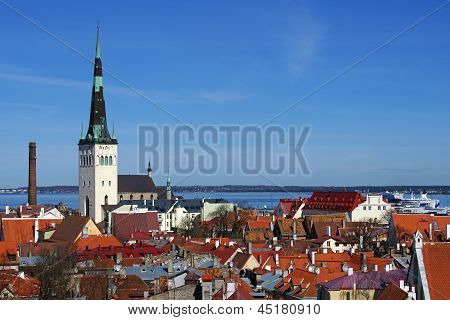 Roofs Of Old City