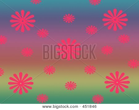 Flowers In Bright Background
