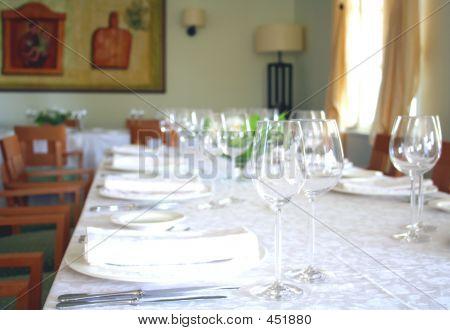 Restaurant Glases
