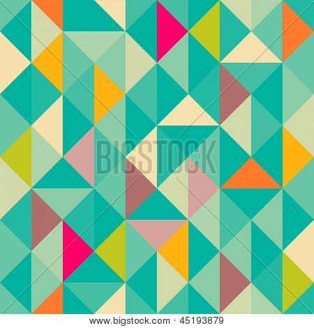 Triangles seamless pattern