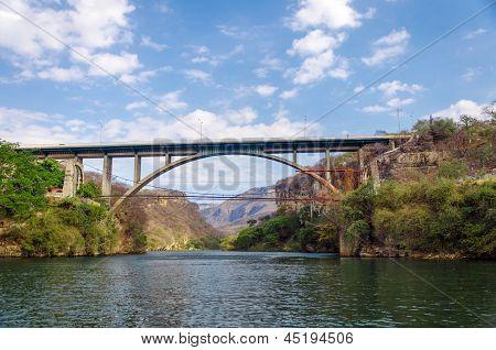 Bridge Over A Canyon